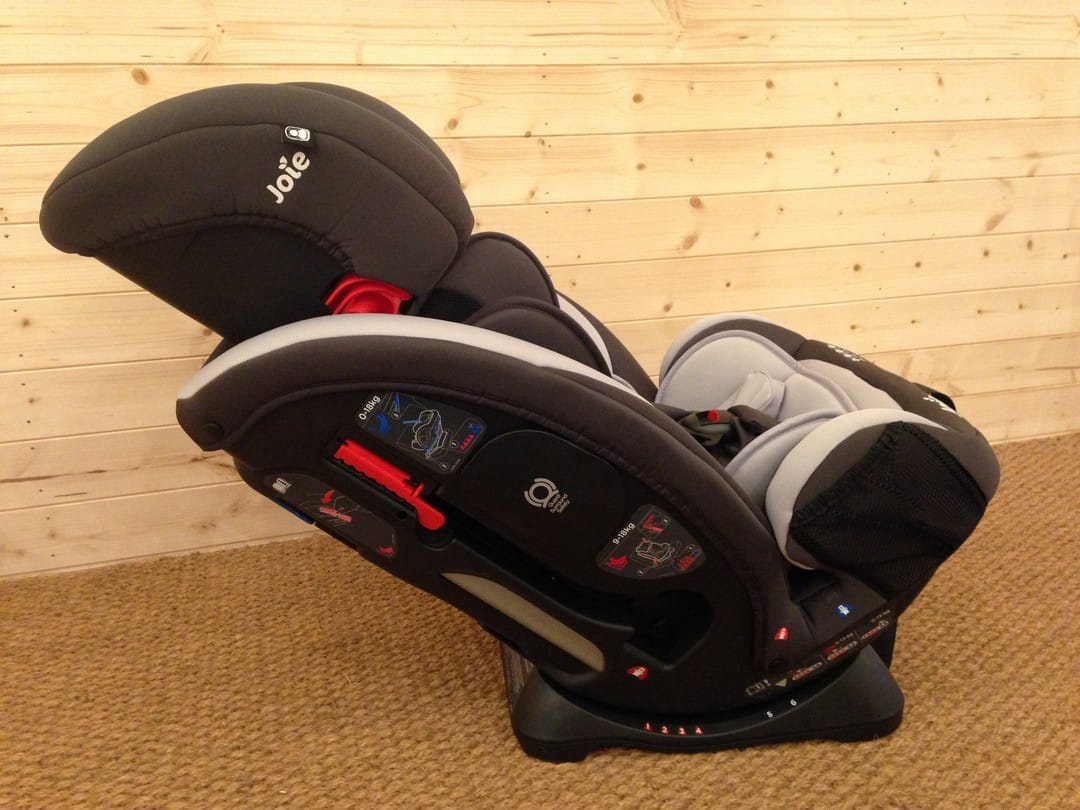 Reclining Joie Every Stage 0+/1/2/3 Car Seat