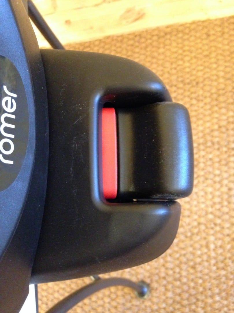 Britax Baby Safe i-Size Base- leg indicator