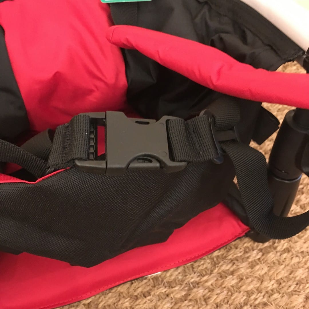 Phil & Teds Lobster Compact Highchair - Safety Harness