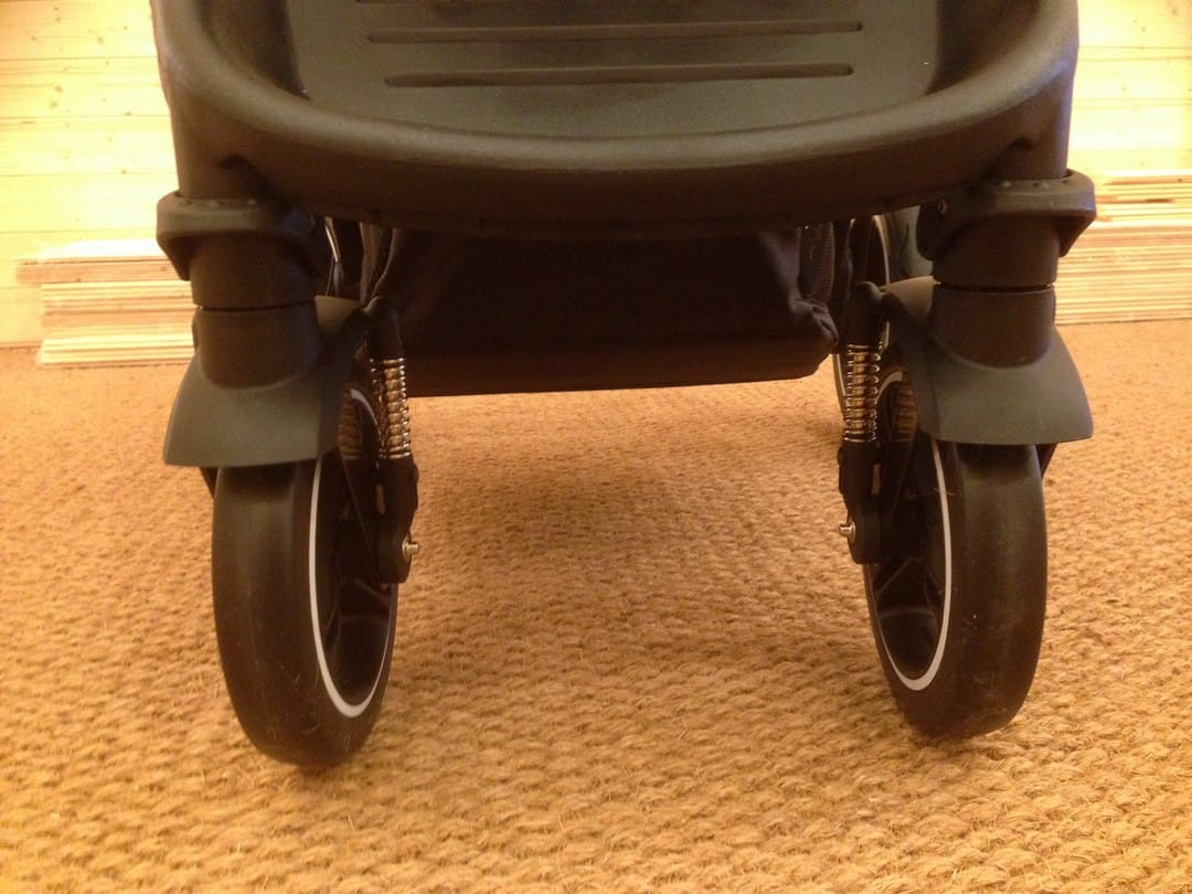 Phil & Teds Mod Pushchair - Front swivel wheels locked
