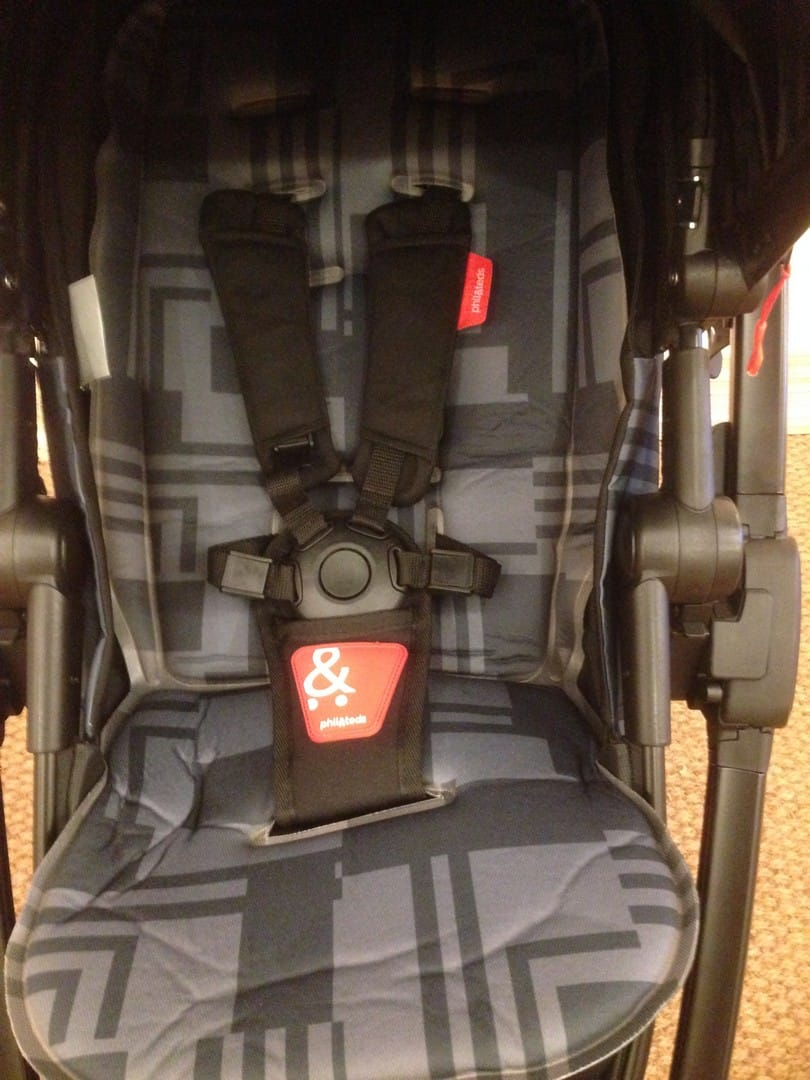 Phil & Teds Mod Pushchair - 5 point harness