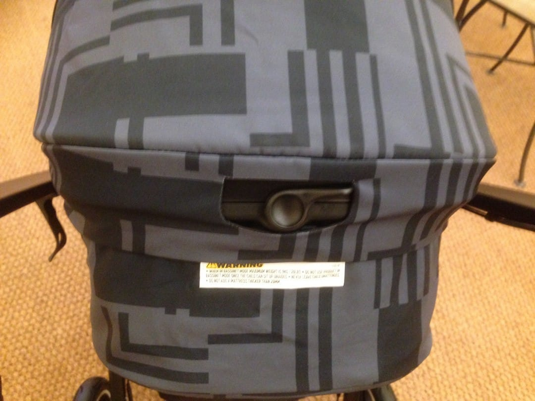 Phil & Teds MOD Pushchair - Reclining position system