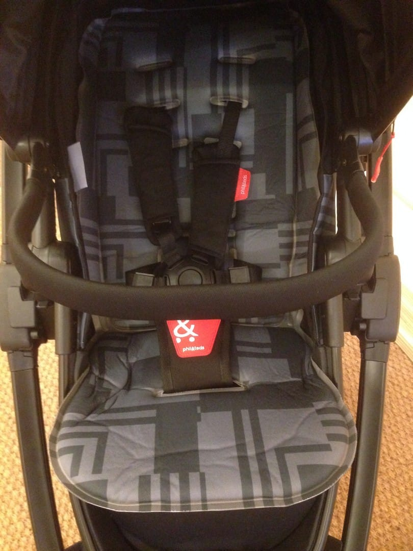 Phil & Teds Mod Pushchair - Bumper Bar for extra grip and comfort on the go