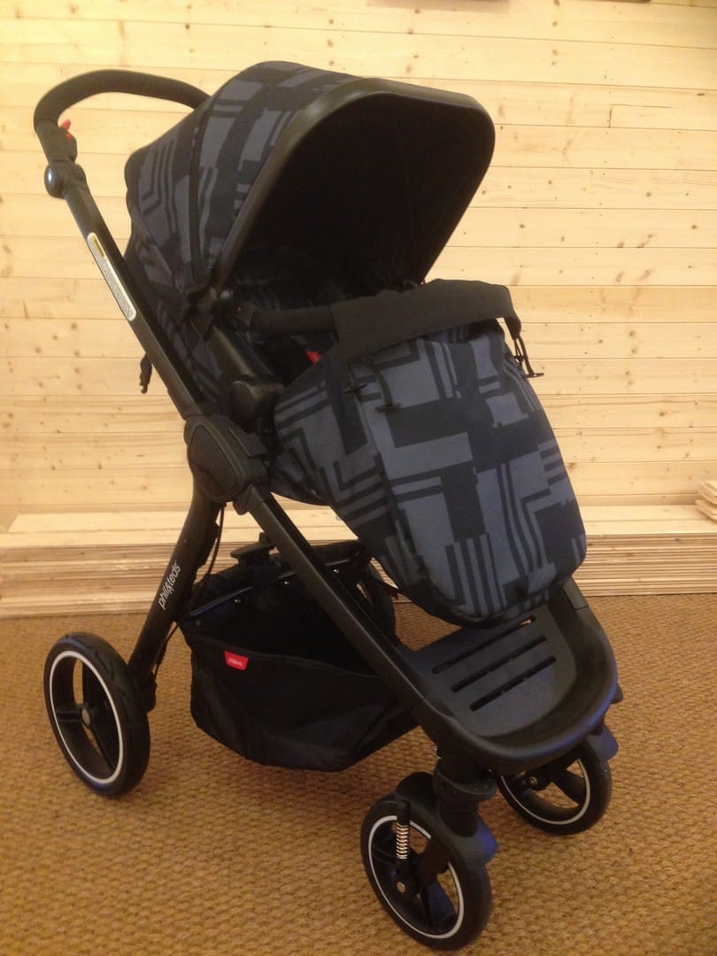 Phil & Teds Mod Pushchair - Cosy toe attached to seat