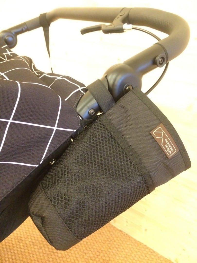 Mountain Buggy Duet V3 Pushchair in Grid – Bottle Holder