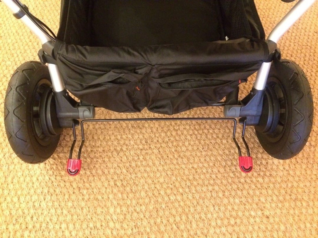 Mountain Buggy Duet V3.0 Pushchair – Foot Brake