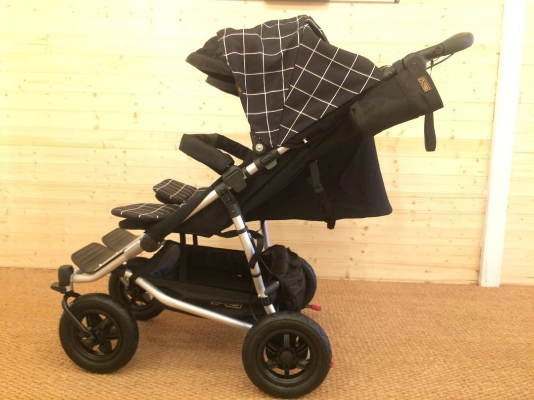 Mountain Buggy Duet V3.0 Pushchair – Full Seat Recline