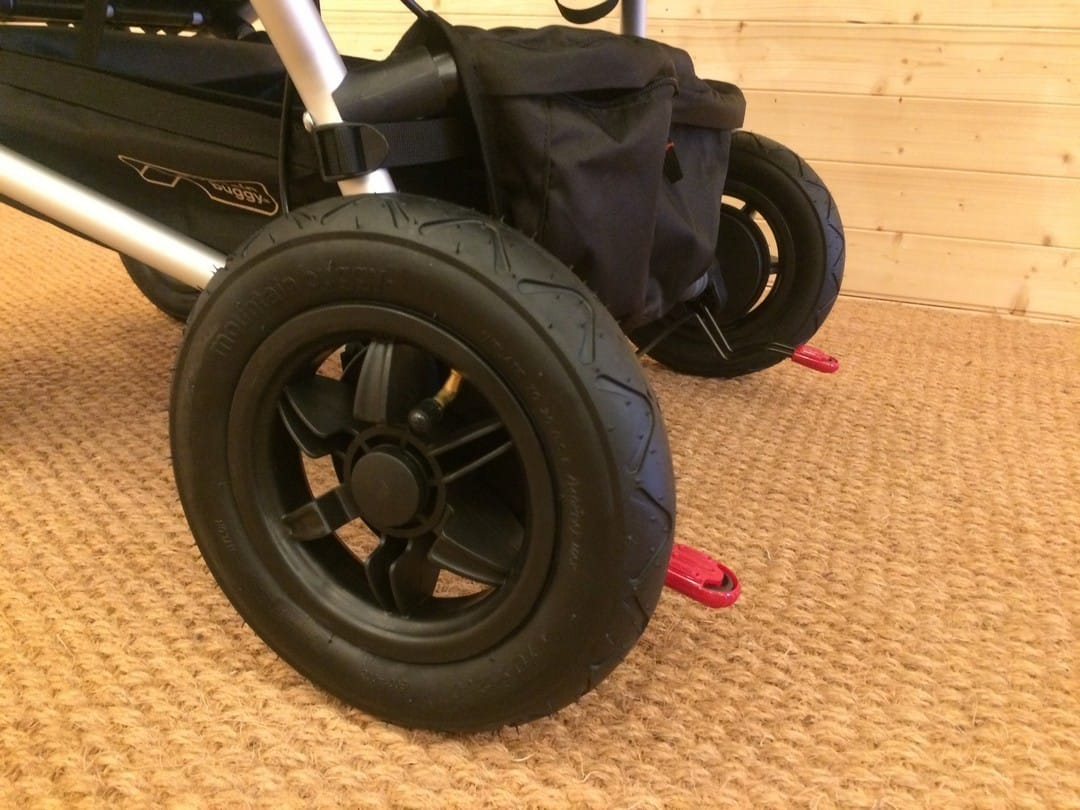 Mountain Buggy Duet V3.0 Pushchair – Rear Tyres