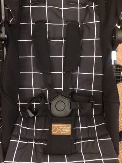 Mountain Buggy Duet V3 Pushchair in Grid - Harness