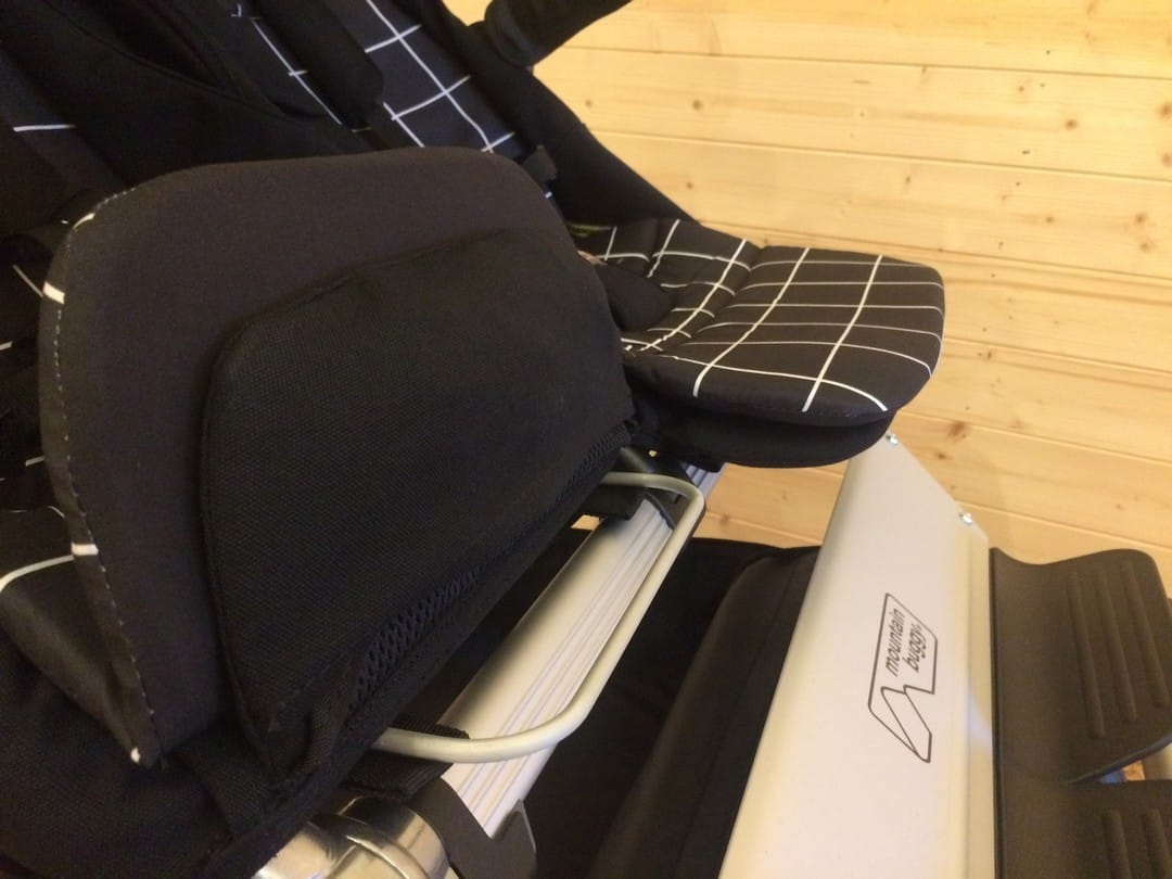 Mountain Buggy Duet V3.0 Pushchair - Adjustable Leg Rest