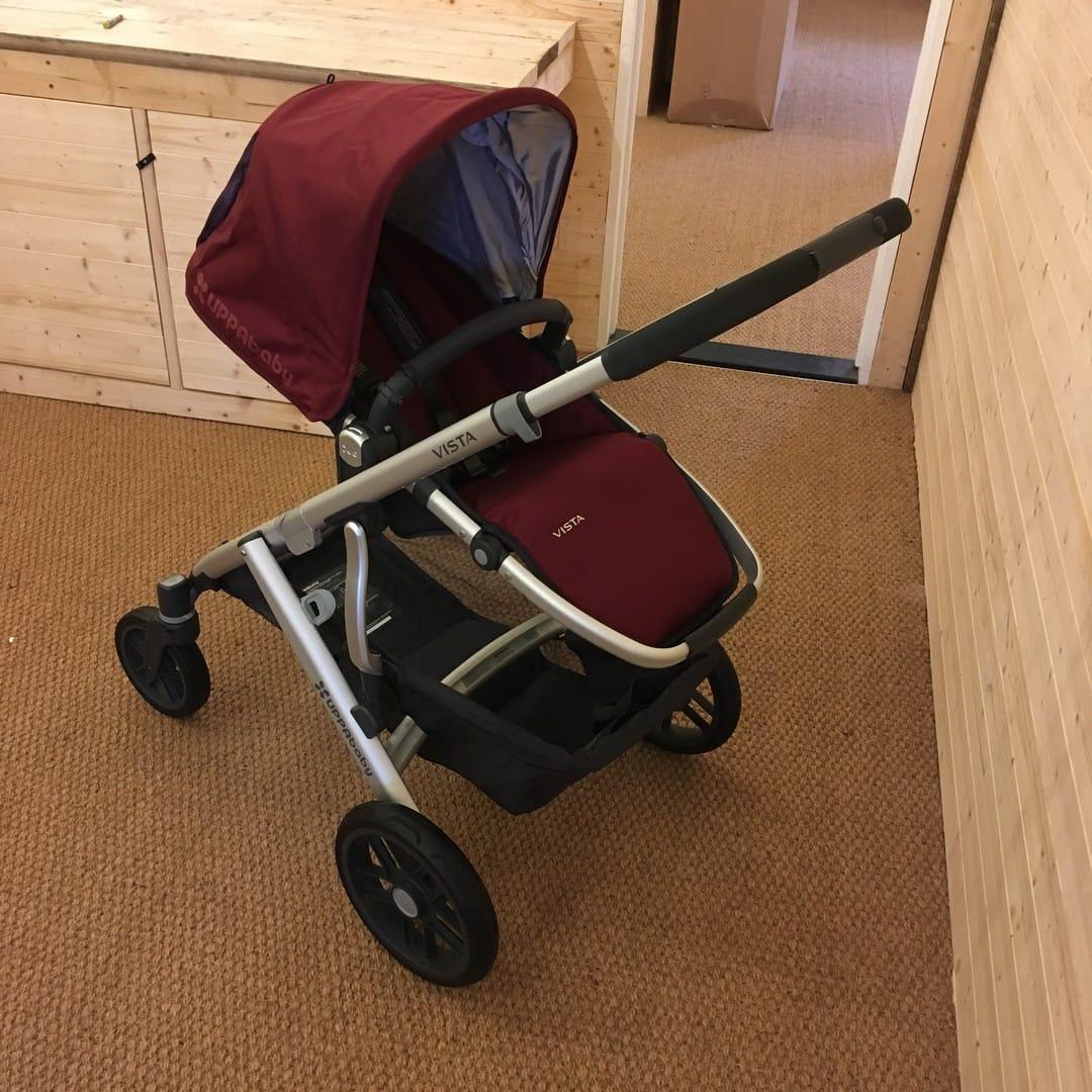 UPPAbaby Vista Pram 2017 Pushchair and Carrycot
