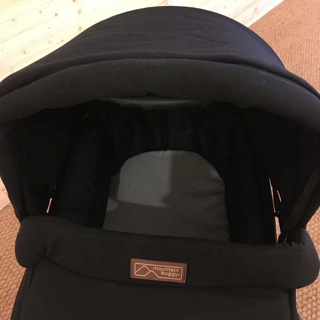 compatible with the Mountain Buggy Swift & Mini Carrycot Plus