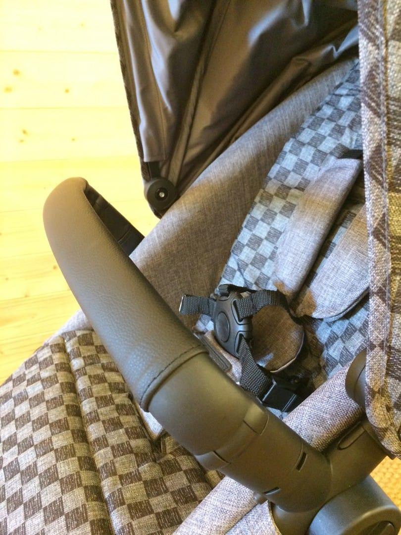 Leatherette handlebar