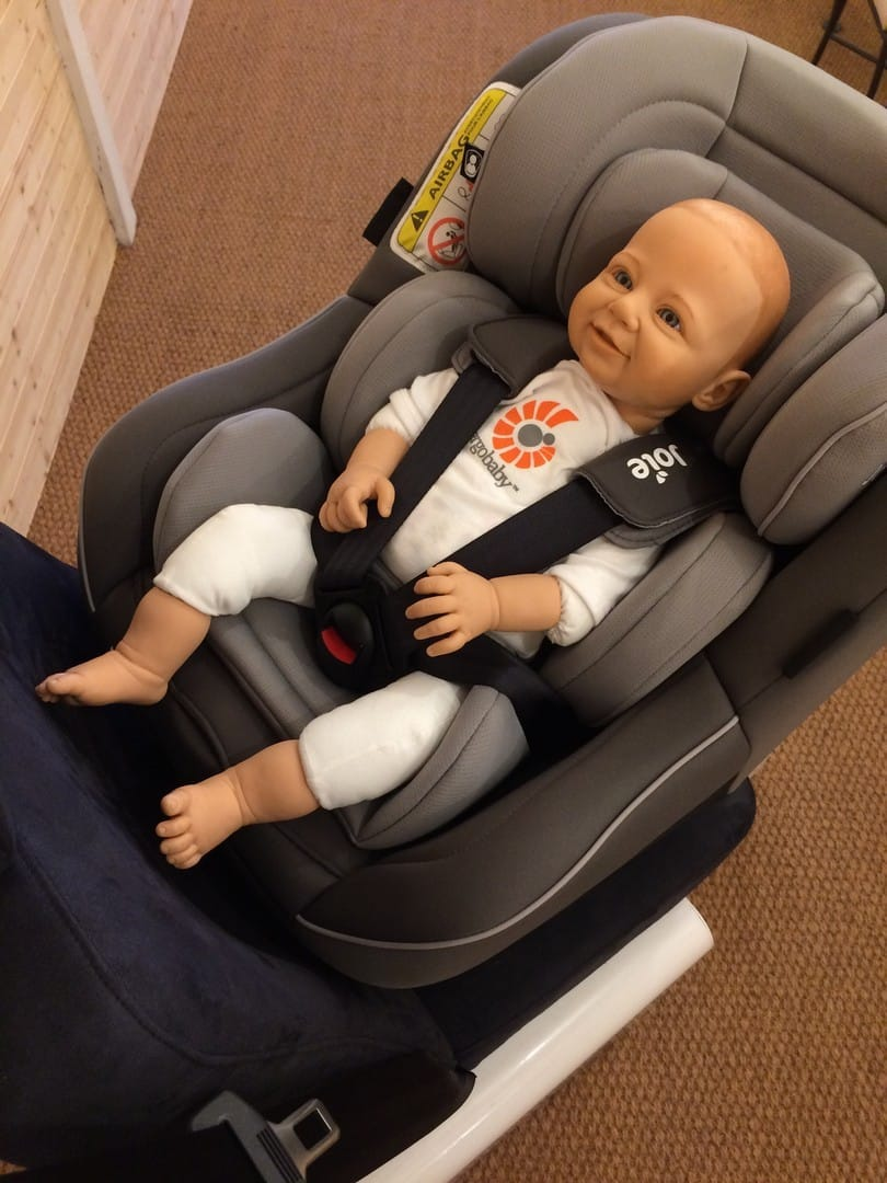 Rear facing for longer - Joie Spin 360 Car Seat