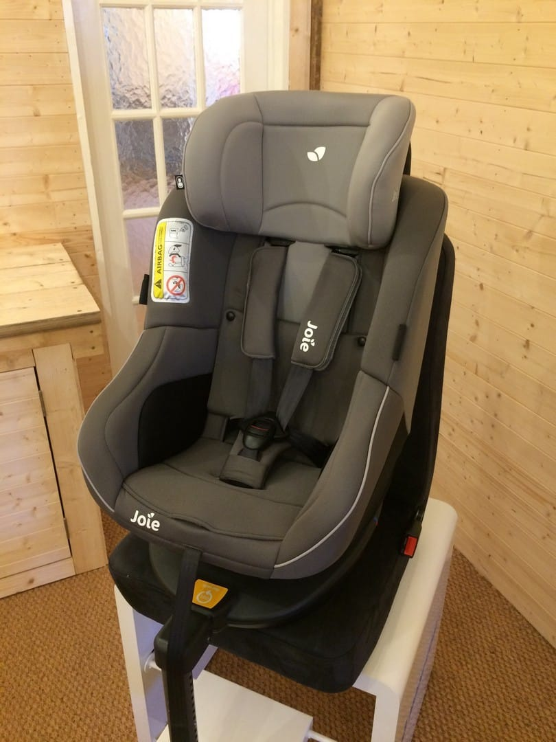 Joie Spin 360 Car Seat - Headrest at highest point