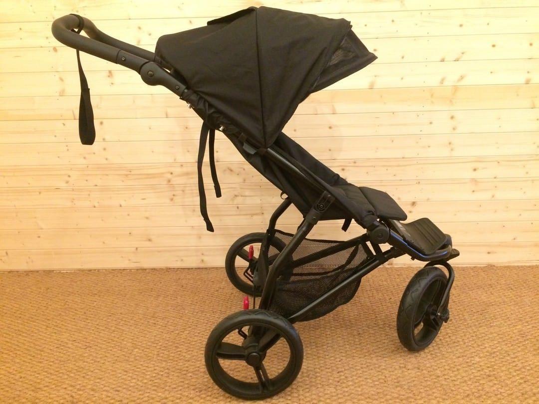 Fully upright - Mountain Buggy Mini