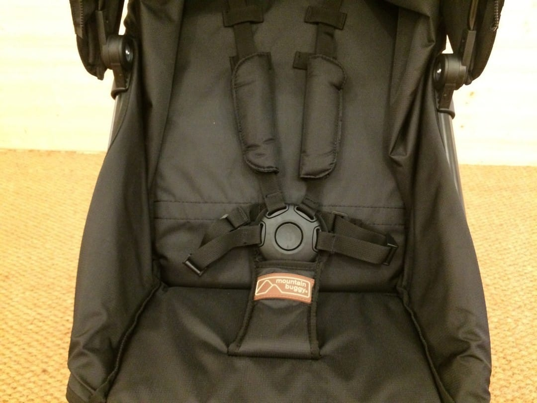 Mountain Buggy Mini - 5-point harness
