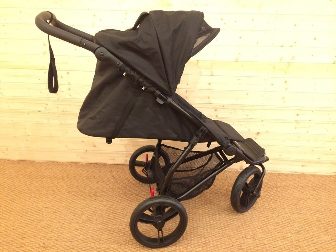 Fully reclined Mountain Buggy Mini