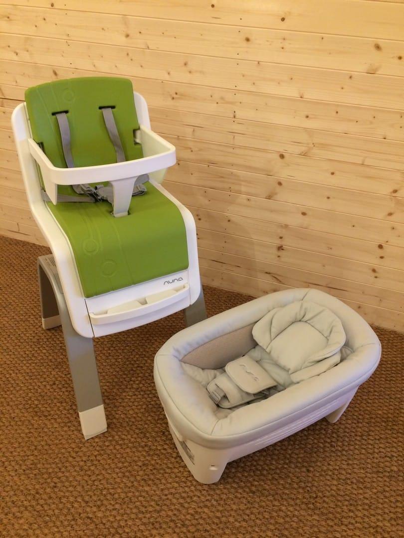 Nuna Zazz Newborn Seat used off of the highchair