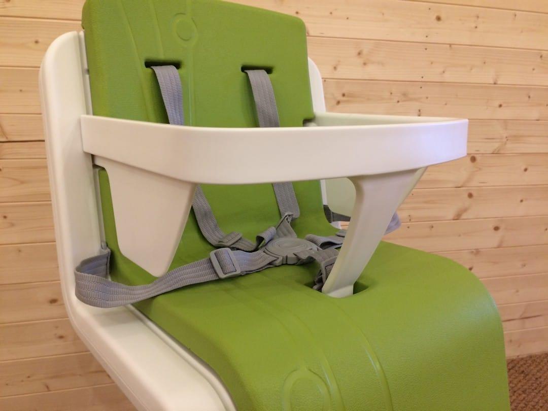 Nuna Zaaz Highchair Removable Safety Bar and harness