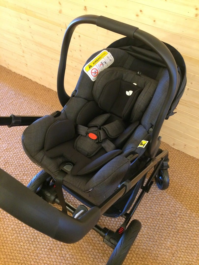 Joie Chrome DLX Pushchair with Joie i-Gemm Car Seat