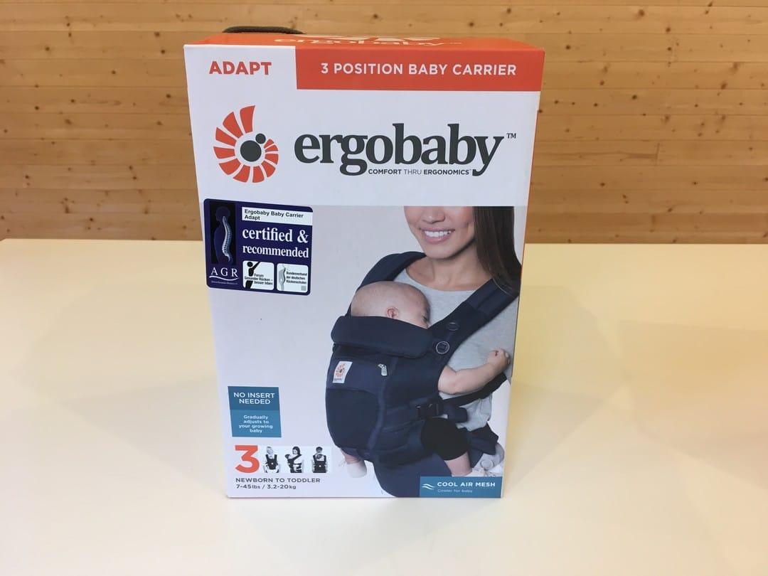 Ergobaby Adapt Baby Carrier - in box