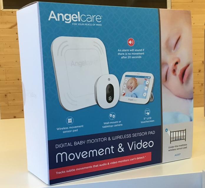 AngelcareAC517 Digital Video, Wireless Movement & Sound Baby Monitor