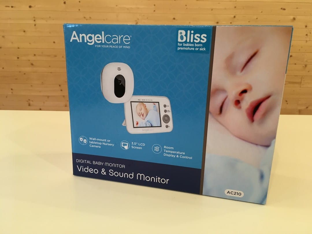 Angelcare AC210 Digital Video and Sound Baby Monitor