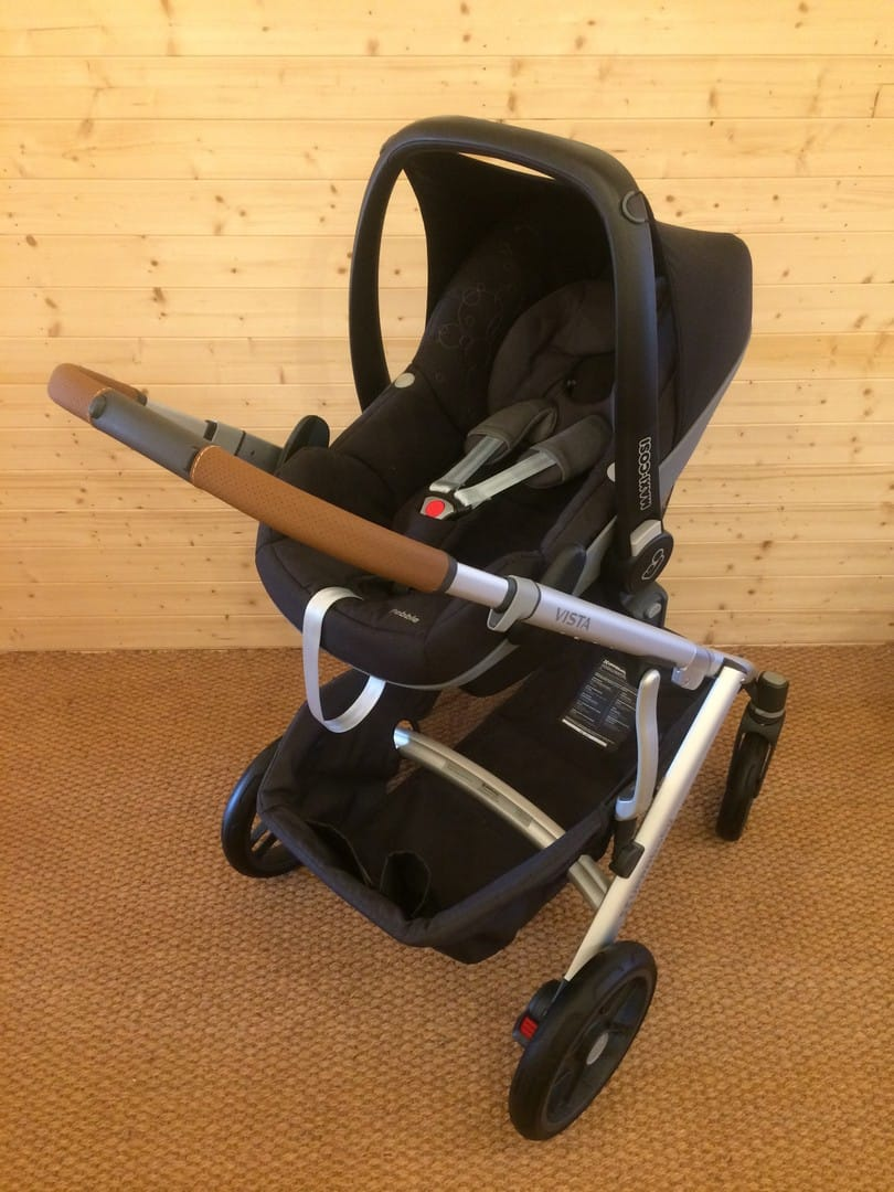 with Maxi-Cosi Pebble Car Seat