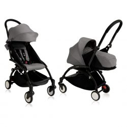 BABYZEN YOYO+ Pushchair Black Chassis with Newborn and 6+ Colour Pack