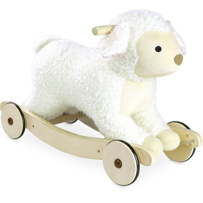 2 in 1 Plush Rocking Sheep