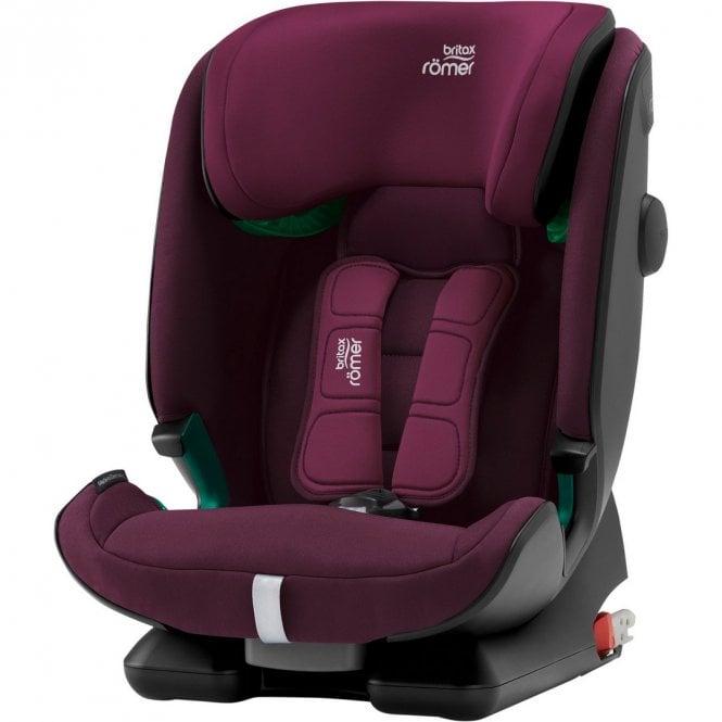Advansafix i-Size Car Seat - Burgundy Red