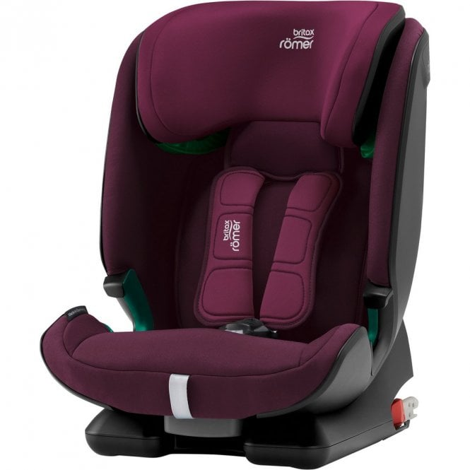 Advansafix M i-Size Car Seat - Burgundy Red