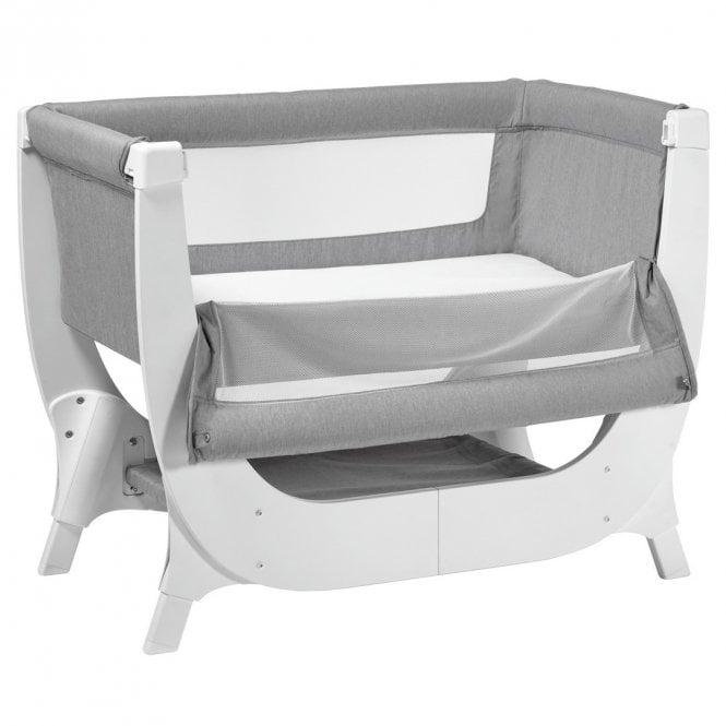 Air Bedside Crib - Dove Grey