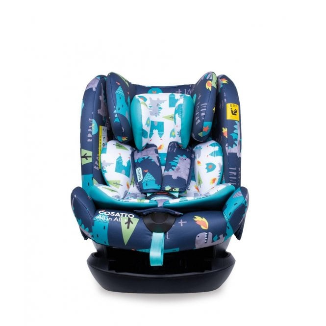 All in All Plus Group 0+123 ISOfix Car Seat - Dragon Kingdom