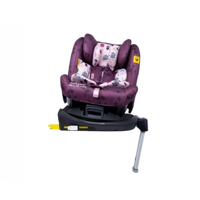 All in All Rotate Group 0+123 Car Seat - Fairy Garden
