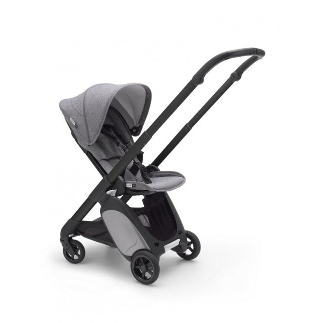 Ant Pushchair Black Chassis - Grey Melange