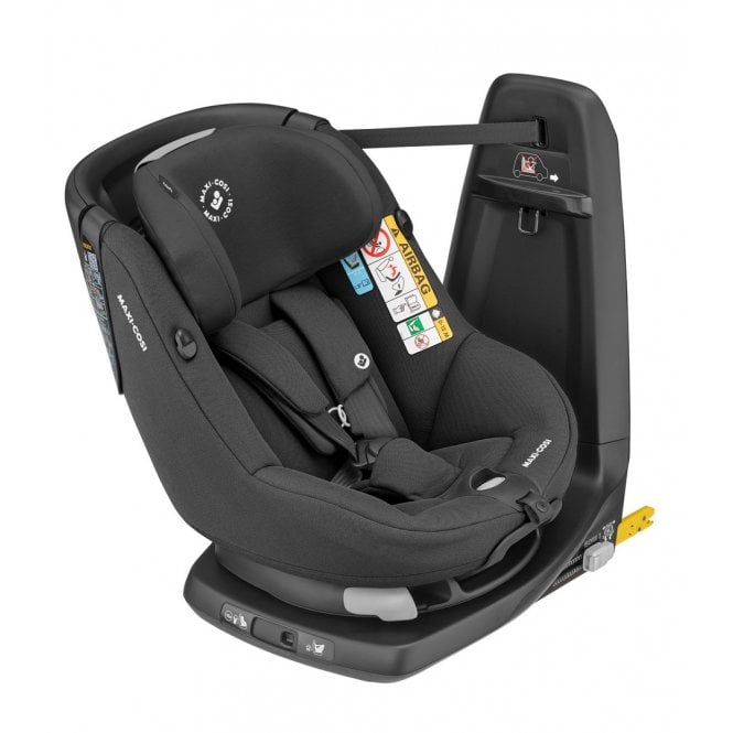 AxissFix i-Size Car Seat - Authentic Black