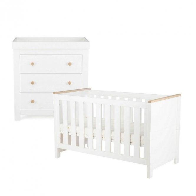 Aylesbury 2 Piece Furniture Set - Ash / White