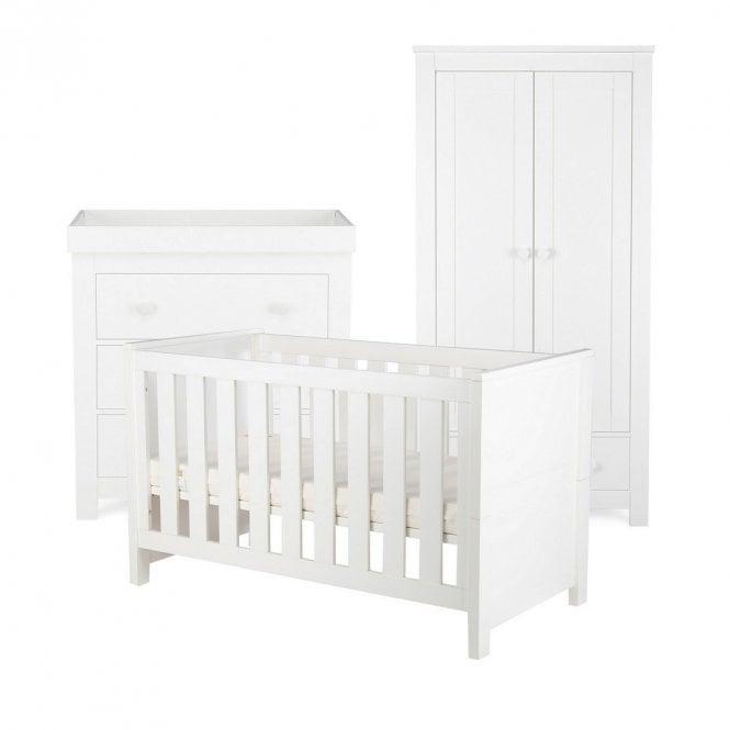 Aylesbury 3 Piece Furniture Set - White