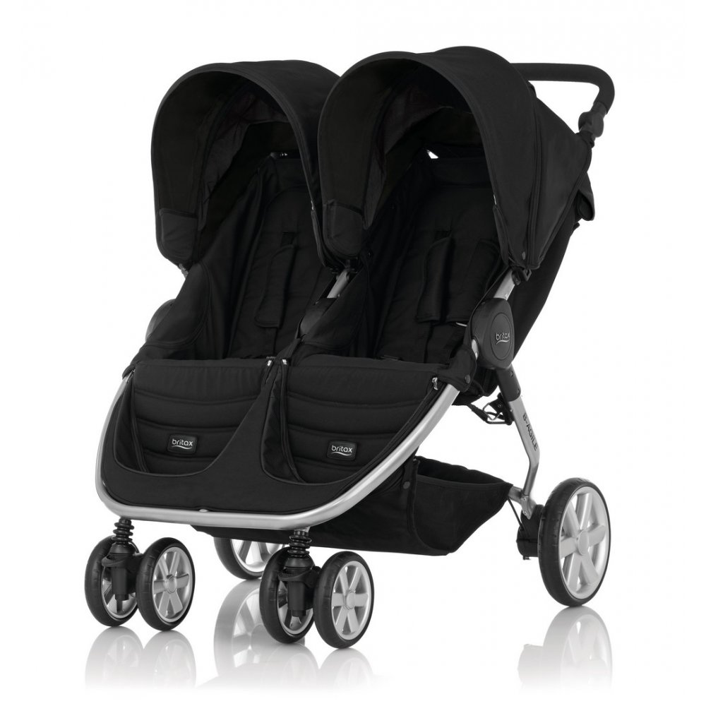 buy britax b agile double pushchair double pushchair buggybaby. Black Bedroom Furniture Sets. Home Design Ideas