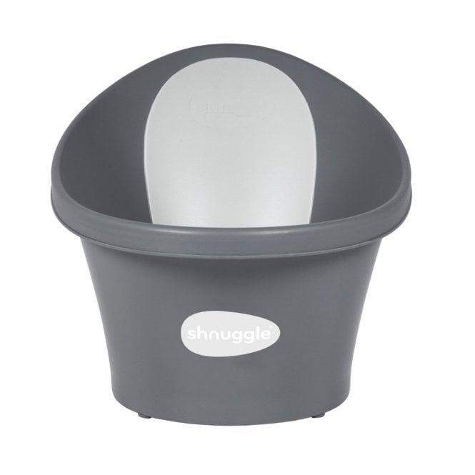Baby Bath with Plug - Slate Grey