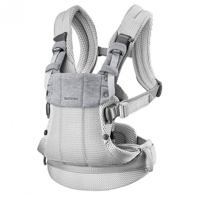 Baby Carrier Harmony - 3D Mesh - Silver