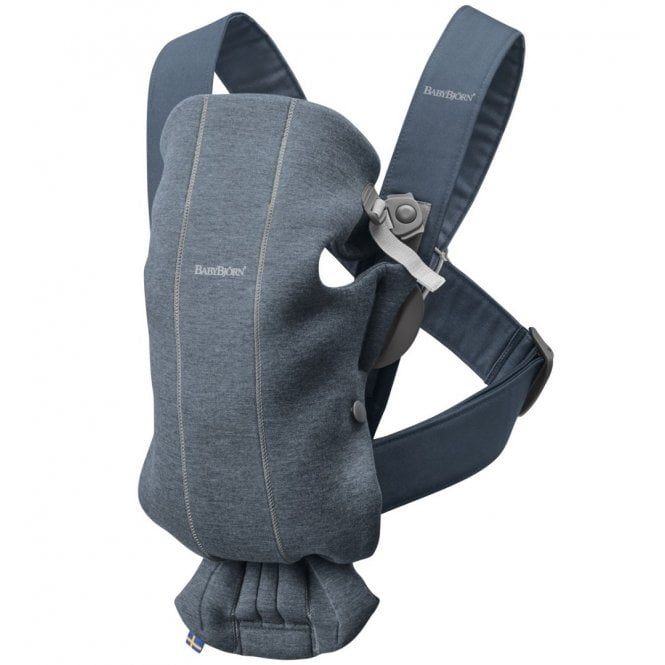 Baby Carrier Mini - 3D Jersey - Dove Blue