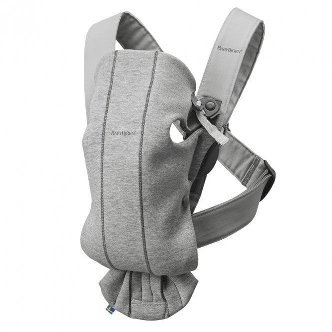 Baby Carrier Mini - 3D Jersey - Light Grey