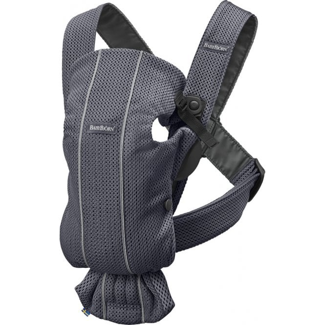 Baby Carrier Mini - 3D Mesh - Anthracite