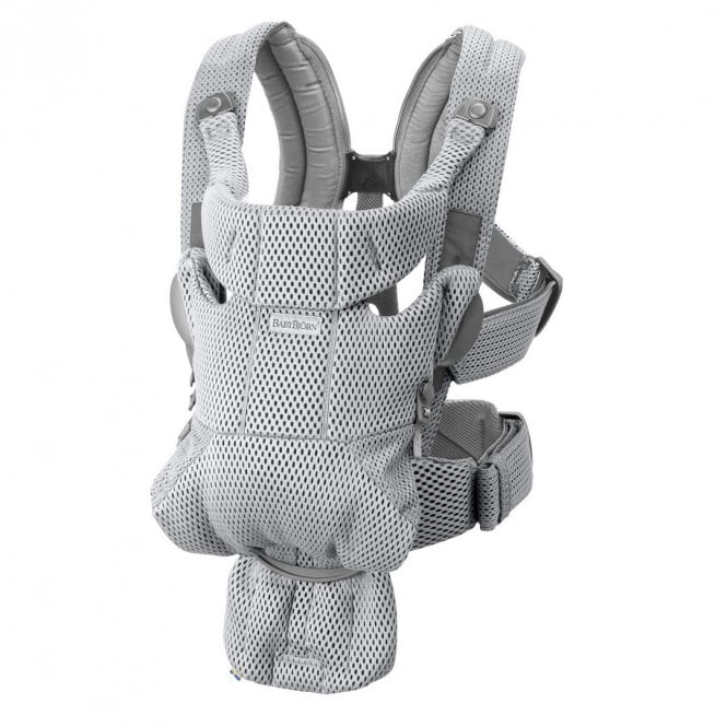 Baby Carrier Move - 3D Mesh - Grey