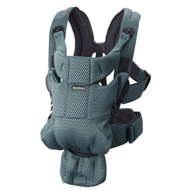 Baby Carrier Move - 3D Mesh - Sage Green