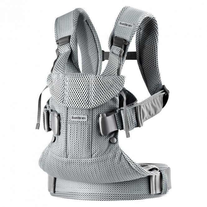 Baby Carrier One Air - 3D Mesh - Silver