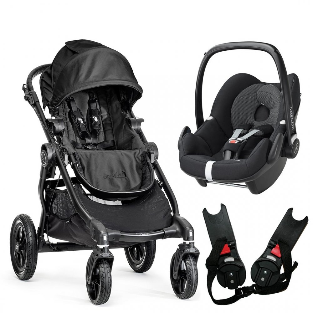 Buy Baby Jogger City Select Travel System Pebble From